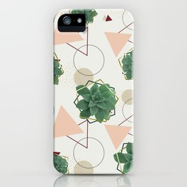 Lovely Succulents #redbubble #decor #buyart iPhone Case