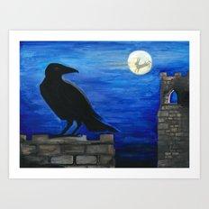 Hare Moon Art Print