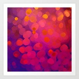 Mulberry Microcosm Art Print