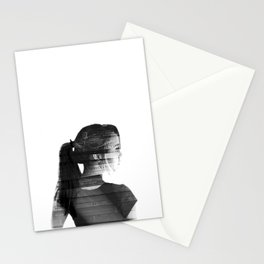 She was lost in her longing to understand. Stationery Cards