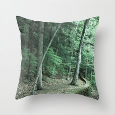 The Way To Neverland Throw Pillow