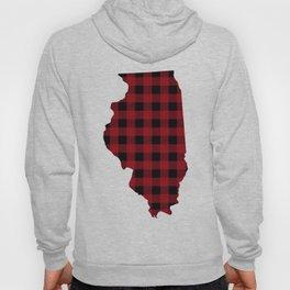 Illinois - Buffalo Plaid Hoody