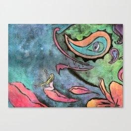 Trip dreamed Canvas Print