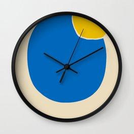 Circle abstract minimal Wall Clock