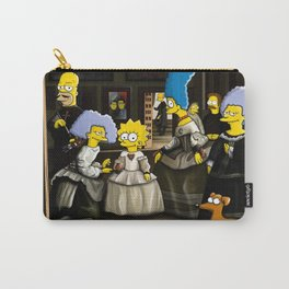Las Meninas - Simpsonized Carry-All Pouch
