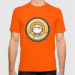 Cute John Watson - Orange T-shirt