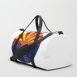 Arizona Flag Baseball Duffle Bag