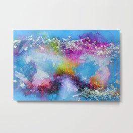 A World of Color Metal Print