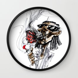 Snoop Dogg (aka. Snoop Lion) Major Blaze Wall Clock