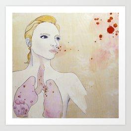 Infection Art Print