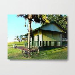 Old Jibaros house in Arecibo Metal Print