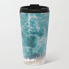 Ocean waves Metal Travel Mug