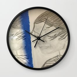 A New Rey of Hope Wall Clock