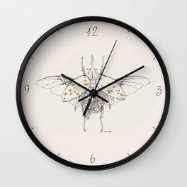 INSECTARIVM 02 Wall Clock
