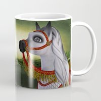carousel Mugs featuring Carousel by Texnotropio