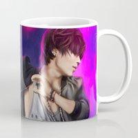 shinee Mugs featuring SHINee - Taemin by Nikittysan