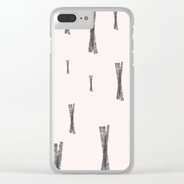 Fingers Crossed Clear iPhone Case