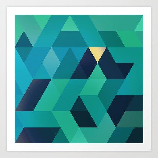 TRI III Art Print