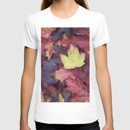 Autumn Leaves - Garden Photography by Fluid Nature T-shirt