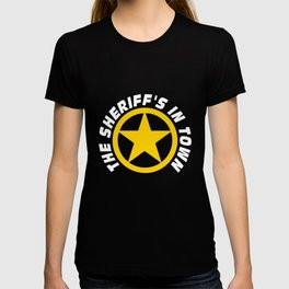 Wild West Collectible Sheriffs In Town T-shirt