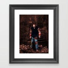Splatterhouse Framed Art Print