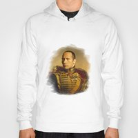 allyson johnson Hoodies featuring Dwayne (The Rock) Johnson - replaceface by replaceface