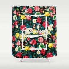 Botanical Floral 2016 Shower Curtain