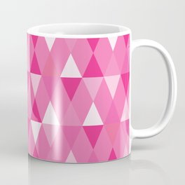 Harlequin Print Pinks Coffee Mug