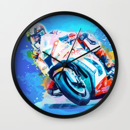 Superbike Racing Wall Clock