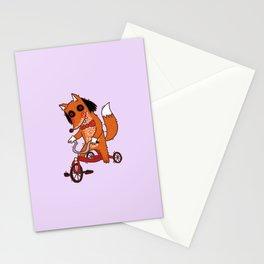 Saw Fox Stationery Cards
