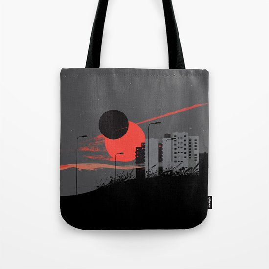 apocalypse city Tote Bag