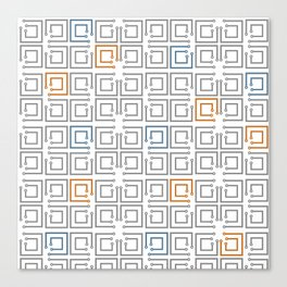 Tech background #society6 #decor #buyart #artprint Canvas Print