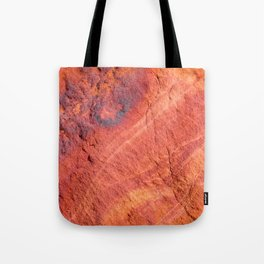 Natural Sandstone Art - Valley of Fire Tote Bag