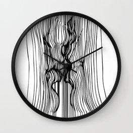 Kiss art Wall Clock