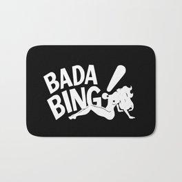 Bada Bing Club The Sopranos Bath Mat