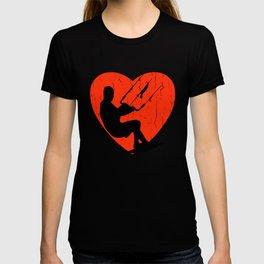 KITESURFING HIPSTER DESIGN T-shirt