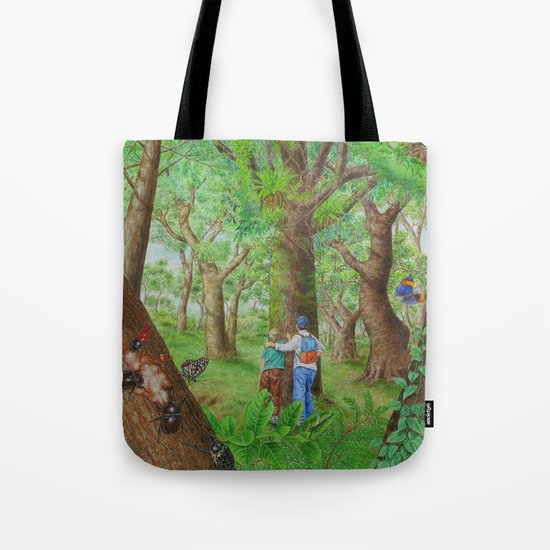 A Day of Forest (3). (Observe the tree) Tote Bag