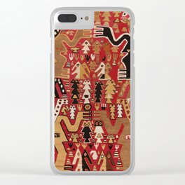 Chimu Style Ceremonial Textile, 14th Century Clear iPhone Case