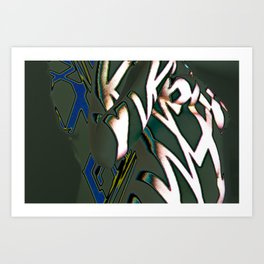 Qurve Art Print
