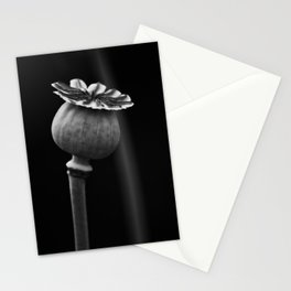 Poppy Head Stationery Cards