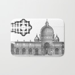 St. Peter Basilica - Rome, Italy Bath Mat