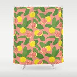 Guava Shower Curtain
