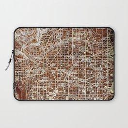 17-Washington West Columbia 1945, vintage map Laptop Sleeve