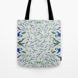 in a mood of pattern Tote Bag