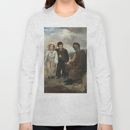 Edouard Manet The Old Musician 1862 Painting Long Sleeve T-shirt