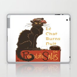Le Chat  Burns Nuit With Haggis and Dram Laptop & iPad Skin