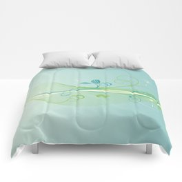 Dandelion Breeze Comforters