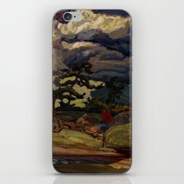 The Elements by James Edward Hervey MacDonald - Canada, Canadian Oil Painting - Group of Seven iPhone Skin