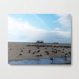 Mexican Beach Metal Print