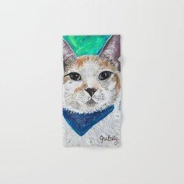 Mr. Peabody Cat Portrait Hand & Bath Towel